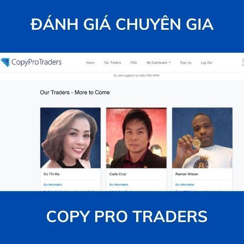 Đánh giá chuyên gia Copy Pro Traders 2021